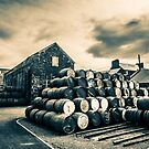 Empty Casks In The Springbank Yard by wsglobal