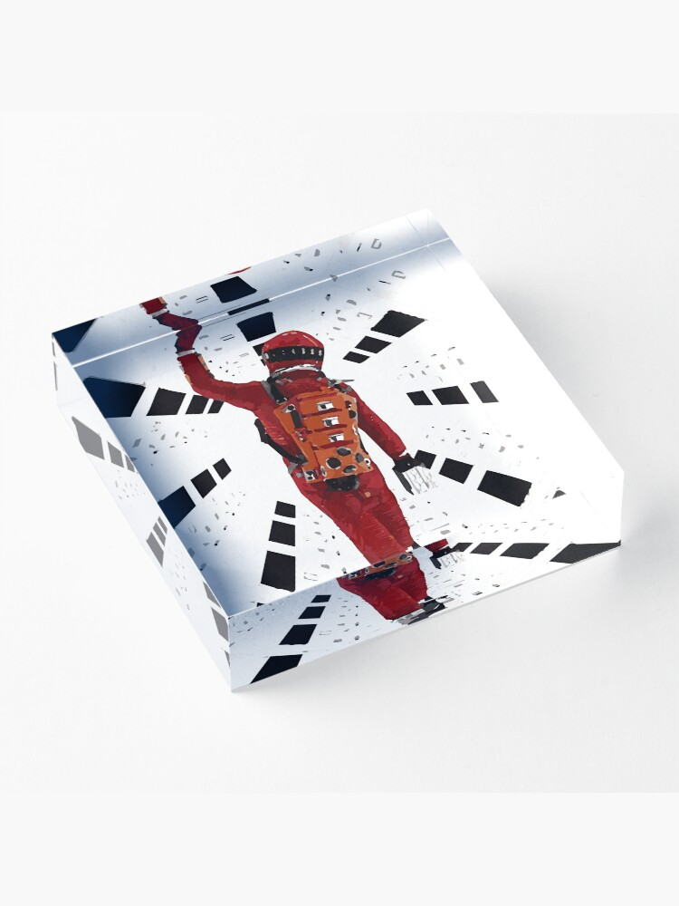 Alternate view of 2001: A Space Odyssey (1968) Acrylic Block