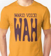 Wario Voice Shirt Slim Fit T-Shirt