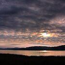 sunset over bala lake  by Jon Baxter