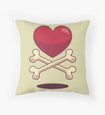 bone up on love Floor Pillow