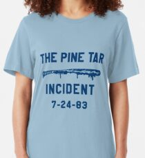 The Pine Tar Incident Slim Fit T-Shirt