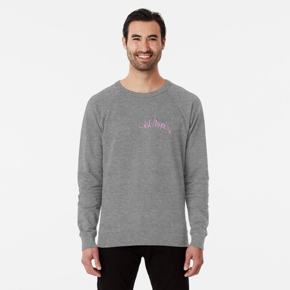 Scheiße passiert Pink Leichter Pullover