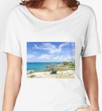 Blue ocean, blue sky  Relaxed Fit T-Shirt