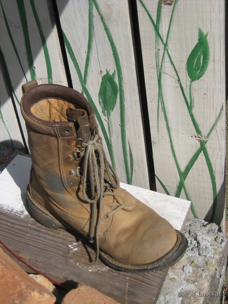 Ballground boot and painted gate by Laurkat