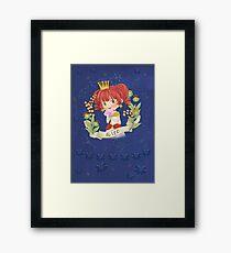 LEO - my cute horoscope Framed Print