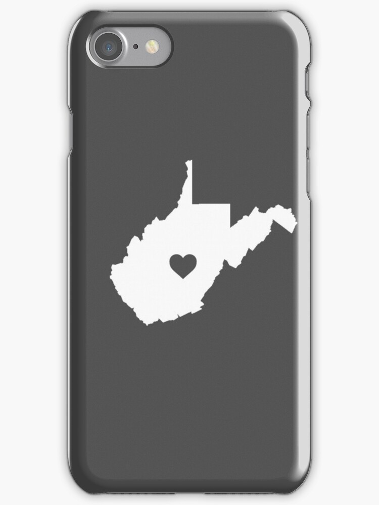 West Virginia Heart by Rjcham