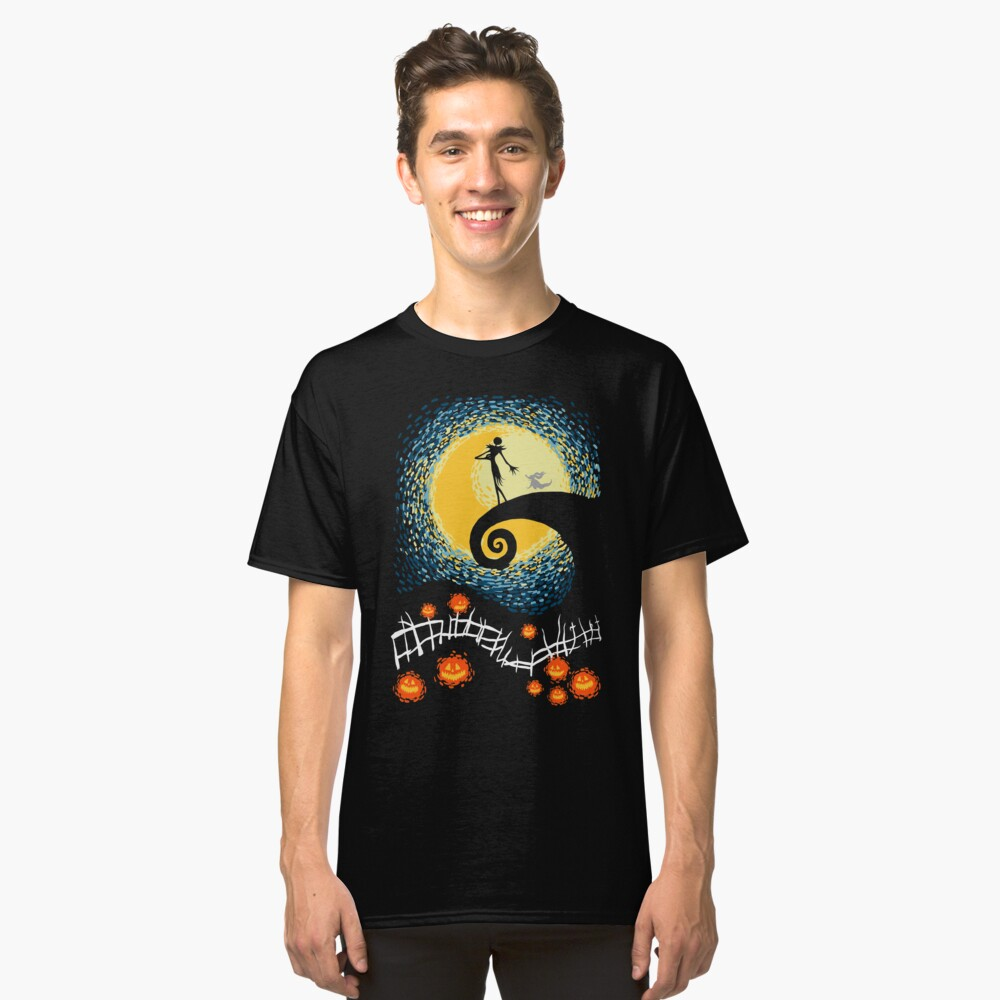 Sternenhafter Albtraum Classic T-Shirt