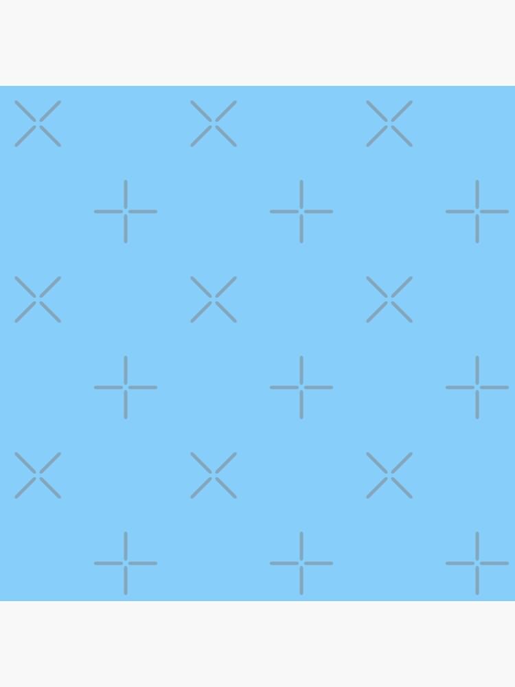 Solid Colour | Plain Light Sky Blue| Blue by ozcushions
