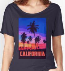 California, Sunset Sky Women's Relaxed Fit T-Shirt