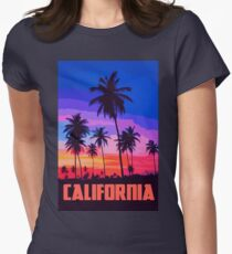 California, Sunset Sky T-Shirt