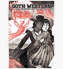 GOTH WESTERN Poster Poster