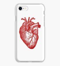 Vintage Heart Anatomy iPhone Case/Skin