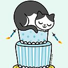 Birthday Cake with Cat by zoel