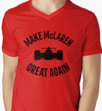 Make McLaren Great Again Men's V-Neck T-Shirt