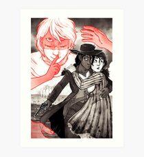 GOTH WESTERN Poster (art only) Art Print