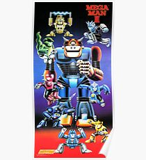 Mega Man III Restored From Nintendo Power Poster - New from Vintage Original Poster