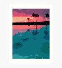 Siesta Key, Florida Art Print