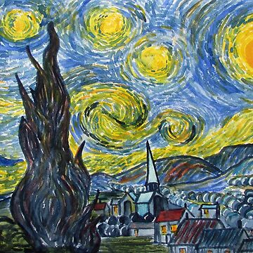 Madness and Myth - Starry Night by treeman
