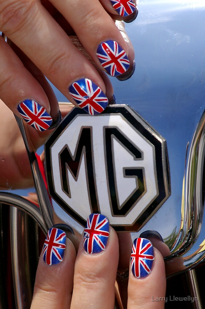 For the MG owners at REDBUBBLE by Larry Llewellyn