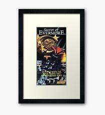 Secret of Evermore, restoration from original Nintendo Power Magazine, Vintage Gaming Poster  Framed Print