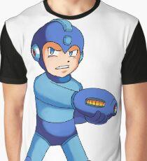 Mega Man! Super Fighting Robot Graphic T-Shirt