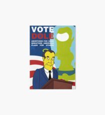 Vote Dole Art Board