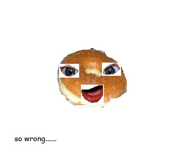 doughnut man by mylampco