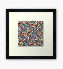 Hula Loop Framed Print
