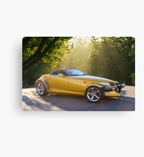 2001 Plymouth Prowler III Canvas Print