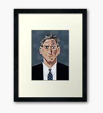 Jon Stewart Framed Print
