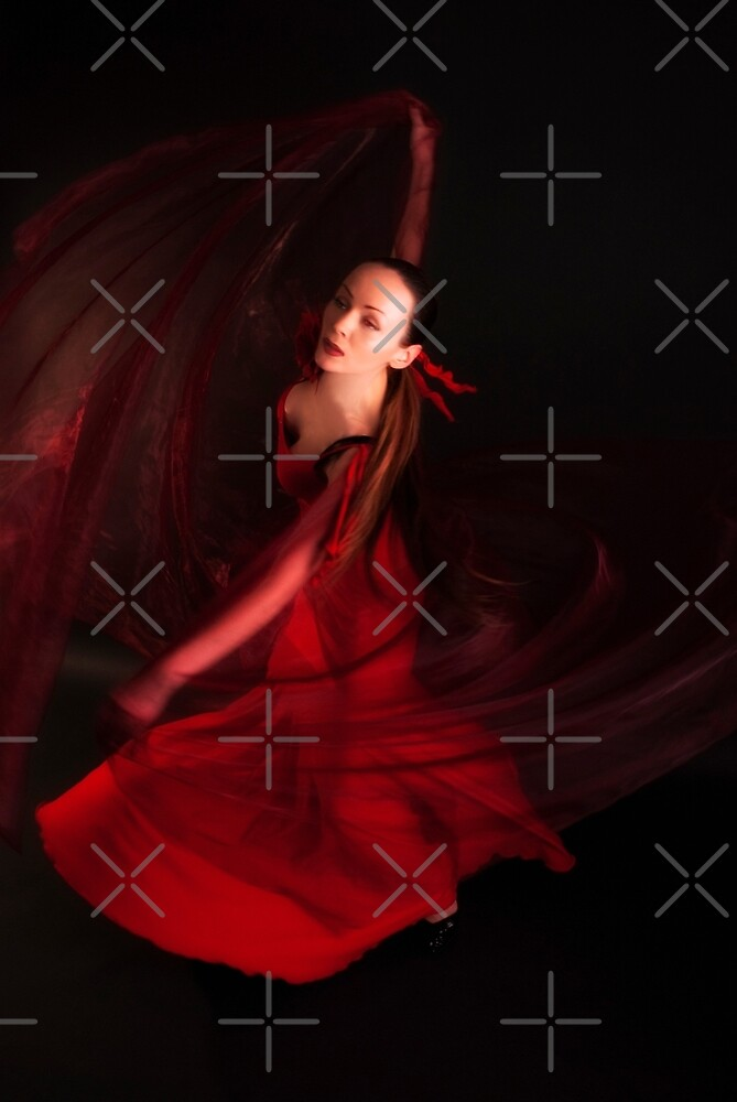 Red veil by AleFairyland