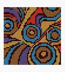 circle knit Photographic Print