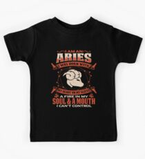 Gag Gift For Aries Born With My Heart On My Sleeve Aries Gifts Kids Clothes
