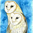 The Barn Owls by kroksg