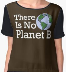 There Is No Planet B Women's Chiffon Top