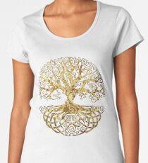 Celtic Tree Women's Premium T-Shirt