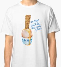 Un Ouef With All The Food Puns Classic T-Shirt