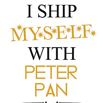 I ship myself with Peter Pan by AllieConfyArt
