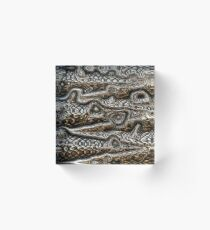 Monster Skin Acrylic Block