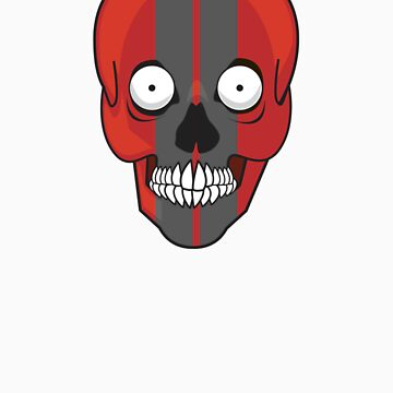 Red Skull by FrankHanker