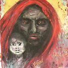 Darfur Madonna and Child by Yianni Digaletos