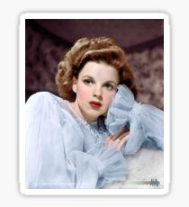 Colorized Judy Garland circa 1943 Sticker