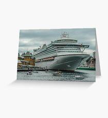 Ocean Liner Azura Greeting Card