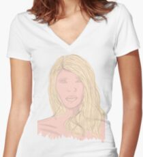 Item Women's Fitted V-Neck T-Shirt