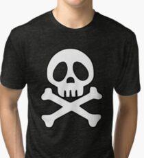 HARLOCK Camiseta de tejido mixto