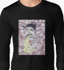 Look at her finger go! Long Sleeve T-Shirt