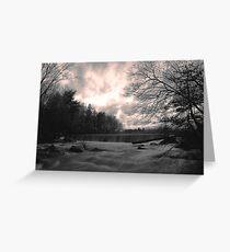 Blackstone Gorge Greeting Card
