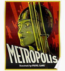 Metropolis - Fritz Lang 1927 Cult Classic Sci Fi Movie Poster