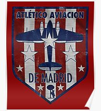 Póster ATLETICO MADRID